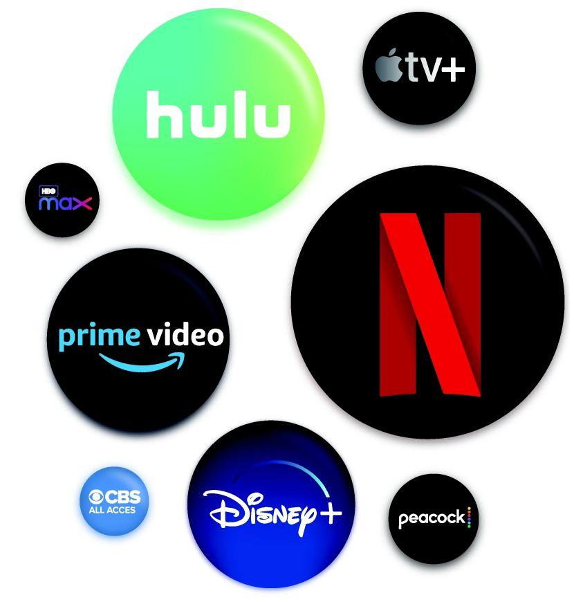 netflix youtube prime disney apple hulu streaming services 2
