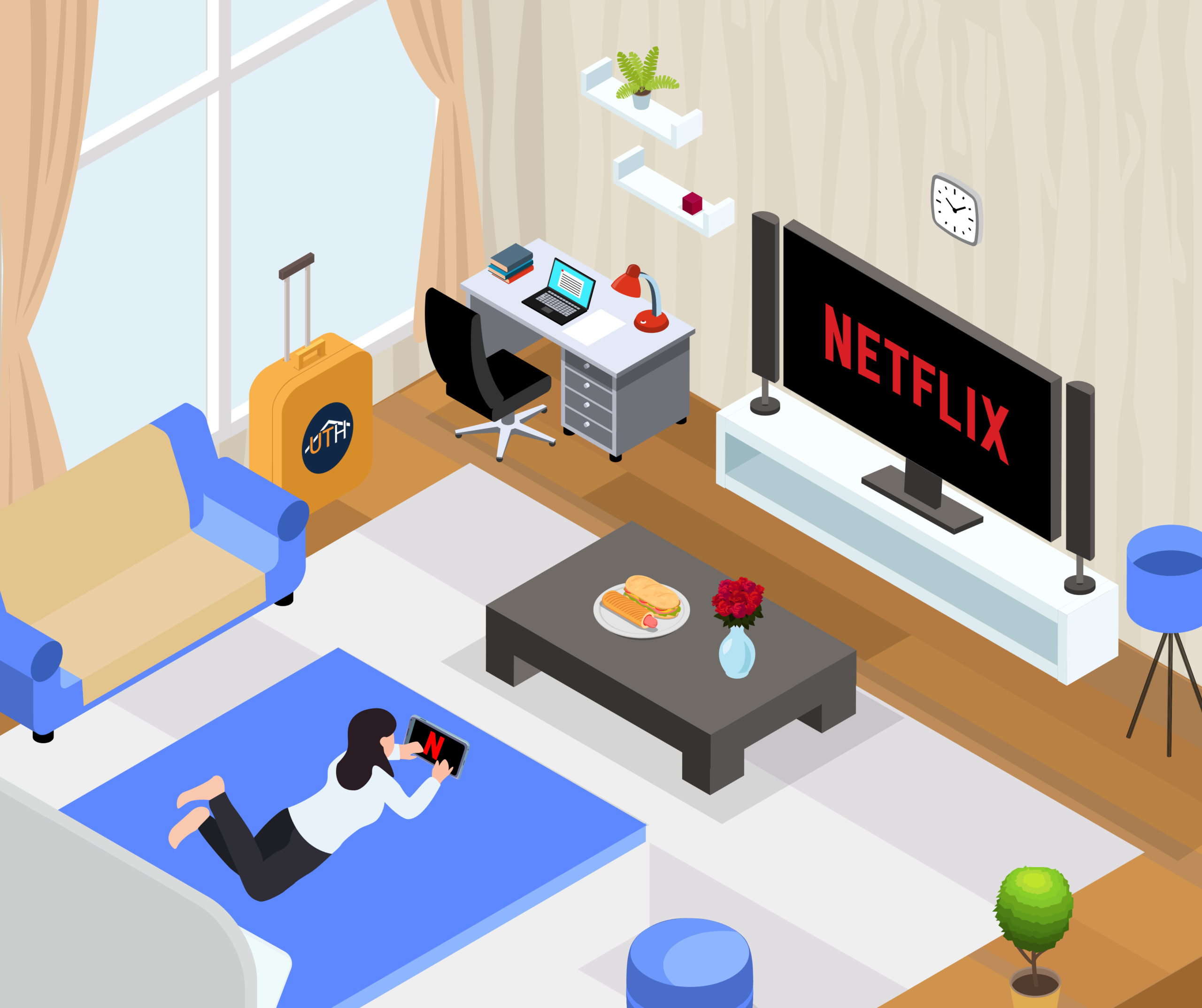 Solution Chromecast Hotel - Netflix